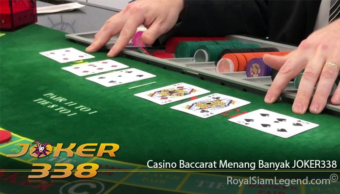 Casino Baccarat Menang Banyak JOKER338